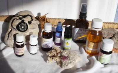 Olis essencials per a les sufocacions i la sudoració