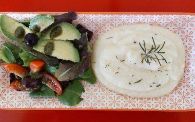 Puré de patates i croquetes de llenties-Dinar